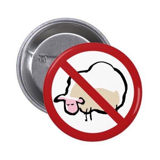 sheep - forbidden! button