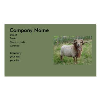 Sheep - Fox colored Ram Business Card