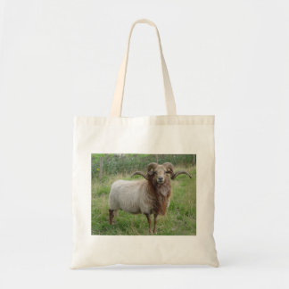 Sheep - Fox colored Ram Tote Bag