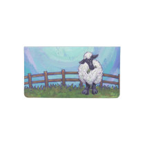 Sheep Gifts & Accessories Checkbook Cover