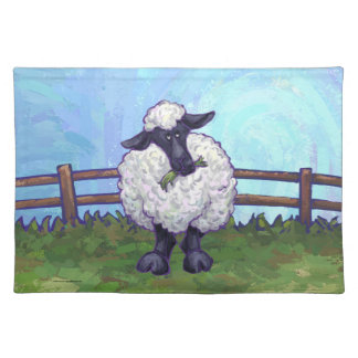 Sheep Gifts & Accessories Cloth Placemat