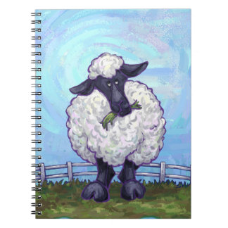 Sheep Gifts & Accessories Spiral Notebook