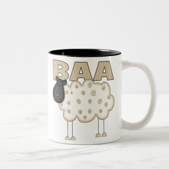 Sheep Gifts Two-Tone Coffee Mug