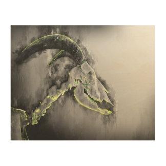 Sheep - goat  skeleton art