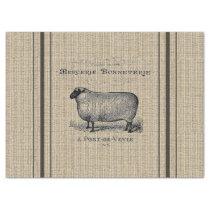 Sheep Grain Sack Tissue Paper