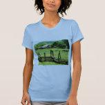 Sheep Grazing in Pasture T-shirts