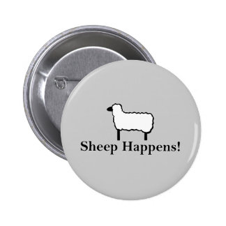Sheep Happens! Buttons