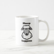 Sheep happens coffee mug