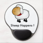 "Sheep Happens ! Gel Mouse Pad<br><div class=""desc"">What a better way to describe it.</div>"
