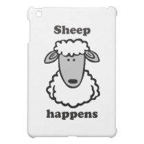 Sheep happens iPad mini case