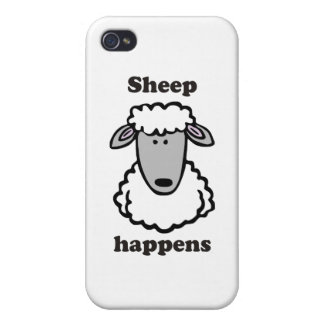 Sheep happens iPhone 4/4S covers