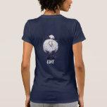 Sheep Head and Tail I love Ewe Dark Tees Shirt