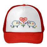 SHEEP & HEARTS by SHARON SHARPE Hats