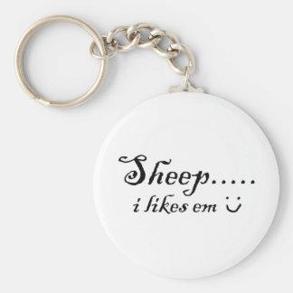 Sheep.....I likes em Keychain