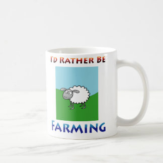 sheep i'd rather be farming Mug