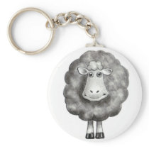 SHEEP IN PENCIL KEYCHAIN