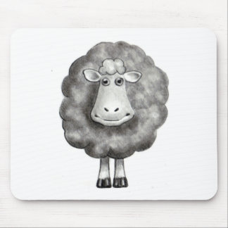 SHEEP IN PENCIL MOUSE PAD