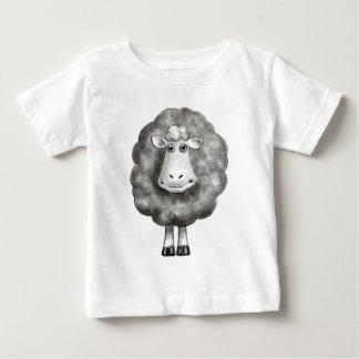 SHEEP IN PENCIL T SHIRT