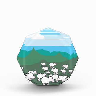 Sheep In the Field Vector Award