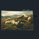 "Sheep in the Highlands 1856 Wristlet Wallet<br><div class=""desc"">Painting by Rosa Bonheur.</div>"