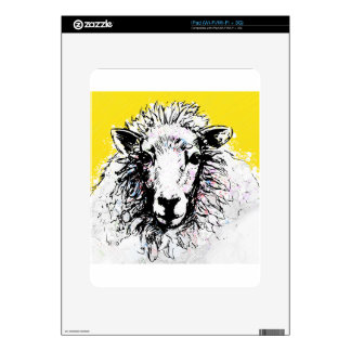 Sheep iPad Decals