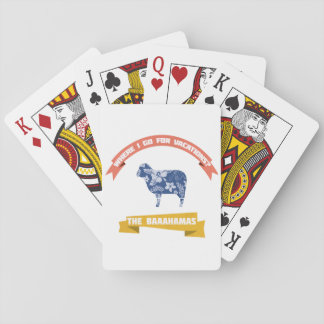 Sheep Joke Poker Deck