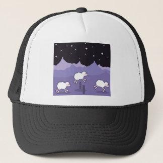 Sheep Jumping Trucker Hat