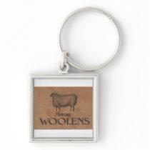 Sheep Keychain
