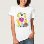 Sheep Knitting Heart T Shirt
