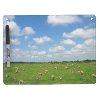 Sheep Landscape Dry Erase Board