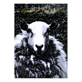 SHEEP LARGE BUSINESS CARD