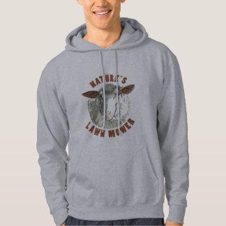 Sheep Lawn Mower Hoodie