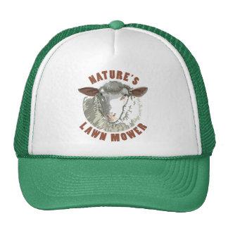 Sheep Lawn Mower Trucker Hat