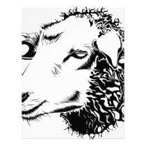 sheep letterhead