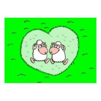 Sheep love business card template