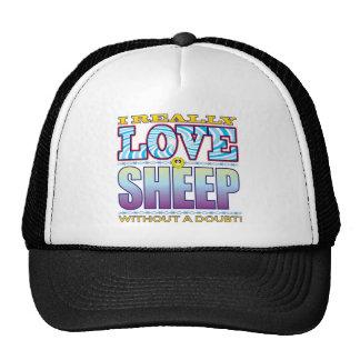 Sheep Love Face Trucker Hat