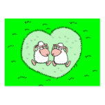 Sheep love large business cards (Pack of 100)
