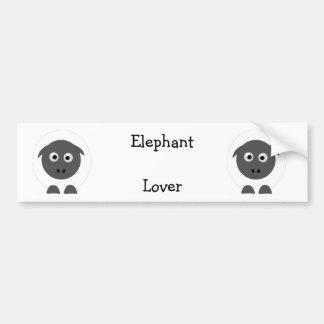 Sheep lover bumper sticker
