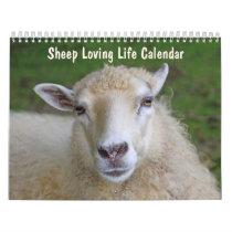 Sheep Loving Life Calendar
