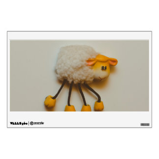 Sheep magnet wall decals