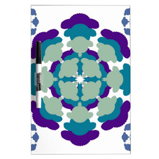 Sheep mandala pattern dry erase board