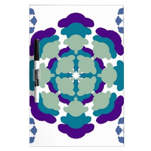 Sheep mandala pattern whiteboards