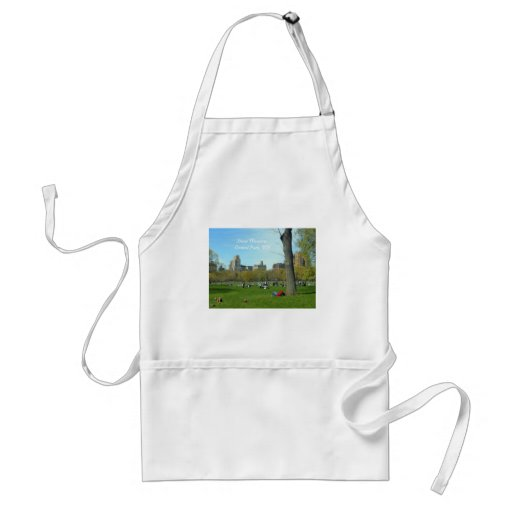 Sheep Meadow, Central Park, NYC Apron