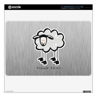 Sheep; metal-look skins for the MacBook air