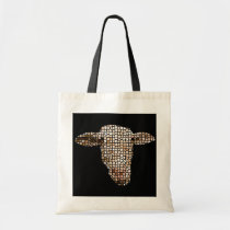 Sheep (mosaic) tote bag