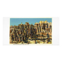 Sheep Mountain, Badlands, South Dakota Card