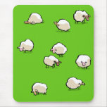 sheep mouse pad