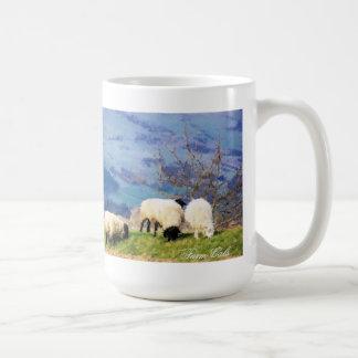 SHEEP CLASSIC WHITE COFFEE MUG