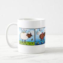 sheep of all seasons row mug