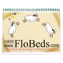 Sheep On Latex Calendar